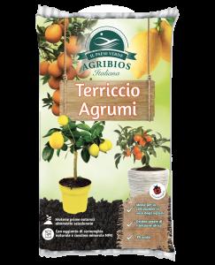 sacco terriccio per piante di agrumi